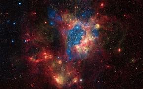 Картинка галактика, БМО, LMC, Большое Магелланово Облако