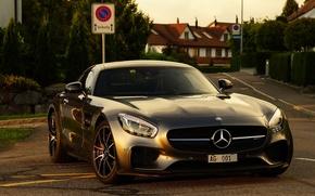 Картинка Mercedes, AMG, Street, GT-S