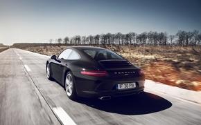 Картинка 911, Porsche, Coupe, Carrera, 991