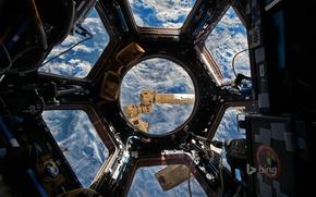 Картинка МКС, купол, международная космическая станция, фото NASA