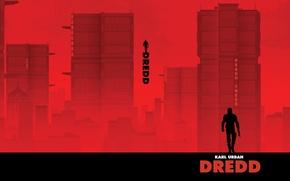 Картинка город, Dredd, Judge Dredd, Mega-City One
