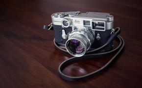Картинка макро, фон, камера, Leica M3