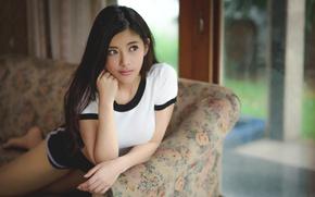 Картинка лицо, азиатка, красотка
