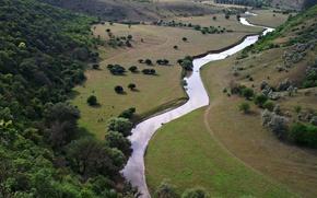 Картинка river, nature, tree