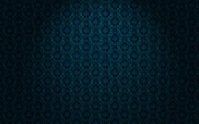 Обои орнамент, материал, синий, обои, черный