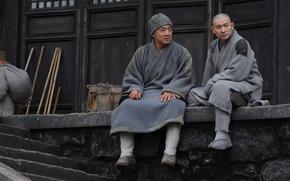 Обои Китай, боевик, монастырь, Джеки Чан, Jackie Chan, монахи, Шаолинь, Andy Lau, San Siu Lam Zi, ...
