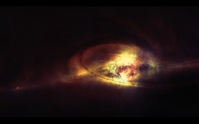 Картинка звезды, space, бесконечность, birth of the sun