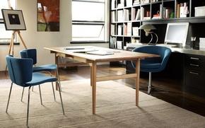 Картинка interior, office, workspace