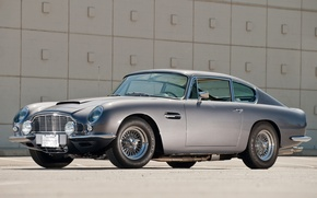 Картинка фон, Aston Martin, Vantage, классика, 1965, передок, Астон Мартин, Вантаж, ДБ6, DB6