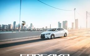 Картинка дорога, машина, авто, Lexus, auto, F-Sport, Wheels, Concavo, GS350
