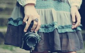 Картинка макро, девочка, апарат