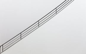 Картинка фон, стена, перила