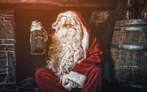 Обои christmas, whiskey, праздник
