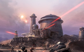 Обои DLC, Outer Rim, Star Wars: Battlefront, EA DICE, Electronic Arts