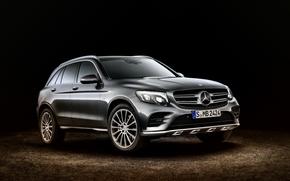 Картинка Mercedes-Benz, мерседес, 4MATIC, 2015, X205, GLC 350