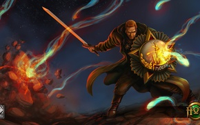 Картинка победа, меч, ссср, солдат, щит, русский, Heroes of Newerth, Liberator, Jeraziah