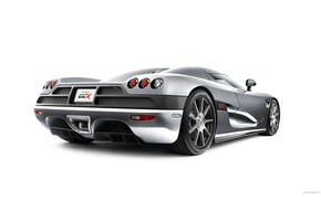 Обои Koenigsegg, Серая, Белый