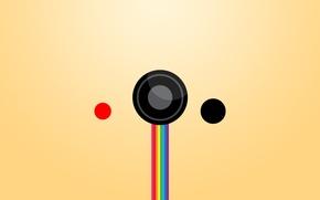 Картинка круги, узоры, краски, радуга, минимализм, colors, rainbow, minimalism, circles, patterns, 1920x1080