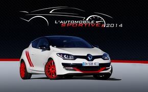 Картинка Renault, White, Megane, Trophy-R