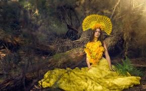 Картинка девушка, стиль, платье, наряд, Amy Brock