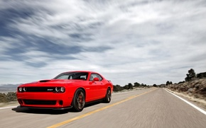 Картинка Dodge, Challenger, SRT, Hellca