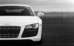 Обои audi, desktop, суперкар, white, audi r8, cars, auto, cars walls, Supercars, обои авто, audi wallpapers