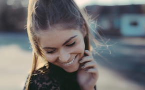 Картинка радость, улыбка, портрет, веснушки