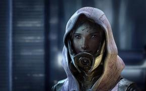 Картинка инопланетянка, Tali Zorah, Mass Effect