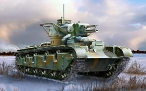 Картинка рисунок, арт, Panzerkampfwagen, Neubaufahrzeug, Рейнметалл, германский опытный средний танк, Nb.Fz., машина новой постройки