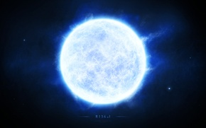 Картинка энергия, космос, звезда, белый карлик