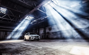 Картинка машина, авто, Mercedes-Benz, ангар, фотограф, auto, photography, AMG, photographer, ML350, Thirteen
