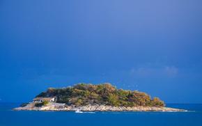 Картинка island, Croatia, Adriatic Sea, Hvar, Galešnik
