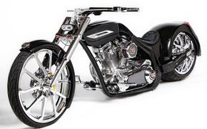 Картинка black, bike, Tune