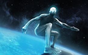 Картинка космос, Marvel Comics, Silver Surfer, Norrin Radd