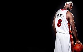 Картинка Спорт, Баскетбол, Татуировка, Miami, NBA, LeBron James, Heat