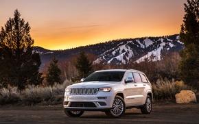 Обои джип, гранд чероки, внедорожник, Grand Cherokee, Jeep