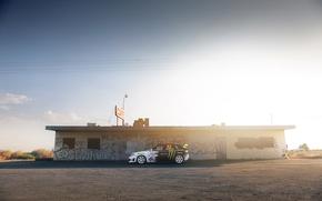 Обои ken block, граффити, Subaru, Impreza