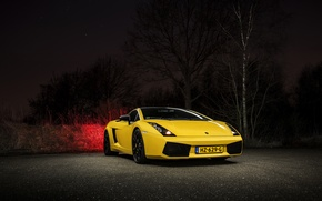 Картинка Lamborghini, Gallardo, Yellow