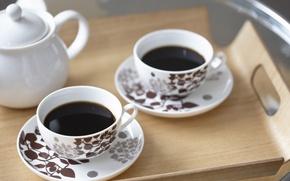 Картинка morning, good morning, black tea, sweet day