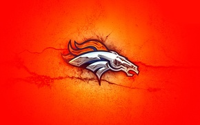 Обои 2014, Wallpaper, денвер бронкос, Orange, Denver Broncos