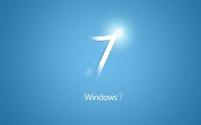 Картинка обои, windows, blue, windows7