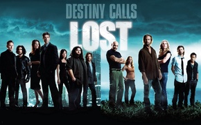 Картинка Lost, Evangeline Lilly, Остаться в живых, Джош Холлоуэй, Дэниэл Дэ Ким, Мэттью Фокс, Эванджелин Лилли, …