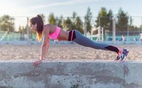 Картинка sportswear, pushups, outdoor activity