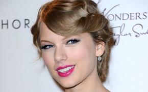 Картинка лицо, улыбка, модель, певица, Taylor Swift, Taylor Alison Swift