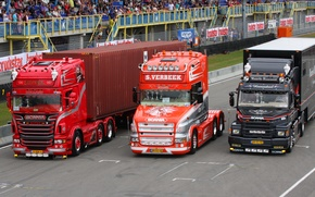 Картинка три, Scania, Truckstar Festival