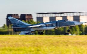 Картинка ОКБ Сухого, ВВС России, Fencer, Су-24М