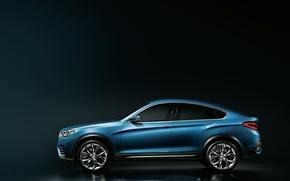 Картинка Concept, BMW, кроссовер, X4