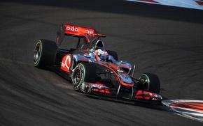 Обои McLaren, формула 1, 2010, Jenson Button, AbuDhabiGP, дженсон баттон