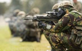 Картинка оружие, British Army, армия, солдаты