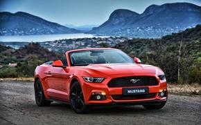Картинка Mustang, Ford, мустанг, кабриолет, форд, Convertible
